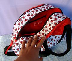 Ladybug kit (D'Sapo) Tags: bag viagem kit bolsa conjunto ecobag sacola necessaire trmica lancheira