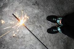Spark Fly (Tu's Photo ) Tags: light fire warm taiwan taipei spark iphone