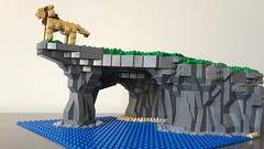 Kings Rock (sebeus) Tags: cliff island lego simba