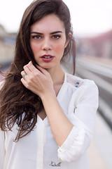 _BRL5821 (Emanuele Brilli) Tags: street portrait people italy art girl station fashion florence model nikon italia 7100 platform sigma tuscany firenze mm toscana 50 stazione ritratto ragazza binari modella