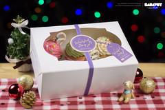 Wishful Day - Christmas Box 2014 (Saravut - Viewfinder) Tags: christmas cute festival set studio table dessert photography sweet bokeh celebration cupcake photograph bakery celebrate saravutviewfinder
