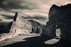 ruins (PHTMatrix) Tags: shadow nature architecture clouds contrast landscape ruins