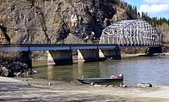 Fishing the Tanana River - Alaska (JLS Photography - Alaska) Tags: bridge water alaska river landscape boat fishing outdoor skiff tananariver alaskalandscape jlsphotographyalaska