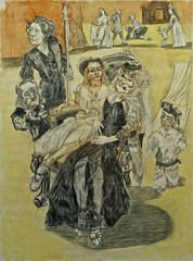The Marquess has gone out at Five (2008) - Paula Rego (1935) (pedrosimoes7) Tags: museum museu muse contemporaryartsociety artgalleryandmuseums creativeartphotography paulargo ecoledesbeauxarts artsandliteratures