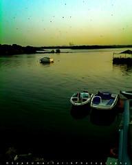 Towards the golden hour. (Umer Tarik) Tags: travel pakistan sunset sea sky nature water beautiful photography exposure shot explore moment capture karachi goldenhour traveler photogrid mykarachi travelbeautifulpakistan