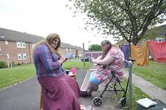 Playing games on the back garden. (yvonnematthews258) Tags: gay tv cd fat tgirl sissy cuddly transvestite crossdresser tgurl