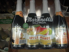 Martinelli's Gold Medal Sparkling Apple Mango Juice (tommyd.) Tags: text indoor beverage collection shop food folsom california