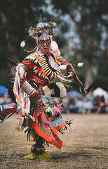 Just Dance (DRoofing163) Tags: sf california blue sunset red summer girl beautiful beauty fashion festival festive model san francisco dancing native traditional culture tribal american stanford tradition tribe cultural powwow stanfordpowwow 500px