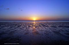 Blue Dawn at Roker Beach (Keith Tilmouth) Tags: morning sea sky sun seascape sunshine sunrise dawn coast early seaside sunny coastal coastline serene seafront sunderland
