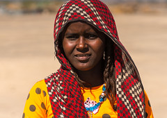 Portrait of an afar tribe woman, Afar region, Semera, Ethiopia (Eric Lafforgue) Tags: africa portrait people woman color horizontal scarf outdoors photography necklace women veiled adult african muslim islam tribal shawl ethiopia tribe ethnic beautifulpeople oneperson traditionalculture adornment hornofafrica individuality ethnology ethiopian afar eastafrica abyssinia traditionalclothing greatriftvalley onewomanonly lookingatcamera samera danakil africanethnicity 1people asayta indigenousculture africanculture afarregion africantribe nomadicpeople assaita asaita semera assayta afardepression africantribalculture ethio162301