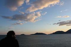Golfo dei poeti (Fr.C.) Tags: sea sky colors clouds landscape persona mar tramonto nuvole mare cielo nubes vista portovenere lungomare paesaggio golfo tino golfodeipoeti cittdilerici