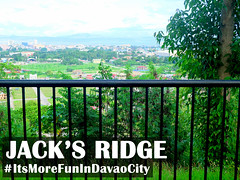 Jack's Ridge - Side Rail / Overlooking the City (itsmorefunindavaocity) Tags: city tourism asia view philippines overlooking davao mindanao cityview davaocity davaodelsur itsmorefunindavaocity