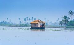 houseboat in Allapuzha ([s e l v i n]) Tags: india houseboat kerala backwaters allepy allapuzha backwatersofkerala keralatourism keralatravel allepybackwaters picturesofkerala selvin