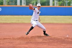 _DSC0676 (Manjhou) Tags: up sport set nikon baseball sigma kaohsiung pitcher position batter 70200mm   pickoff   tainwan         d7200