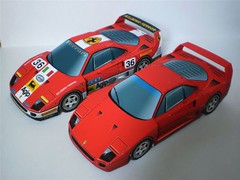 Ferrari F40 Paper Car Ver.3 Free Vehicle Paper Model Download (PapercraftSquare) Tags: car ferrari 135 f40 ferrarif40 papercar vehiclepapermodel