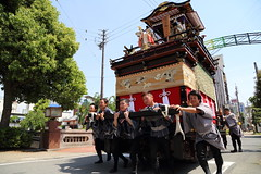 Heavy work (Teruhide Tomori) Tags: people festival japan event  float  gifu ogaki  ogakifestival importantintangiblefolkculturalproperties