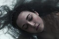 Ondine (Kenny Laurence) Tags: blue sunlight water girl hair model nikon 85mm mermaid myth ondine samyang rokinon