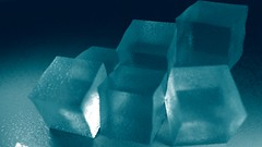 Ice Cubes (FutUndBeidl) Tags: blue cold ice water frozen cool icecubes eis  blendercycles