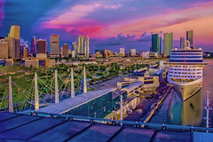 View of downtown Miami, Florida, U.S.A. (Jorge Marco Molina) Tags: miami florida usa miamidadecounty cityscape cityurban southerncity