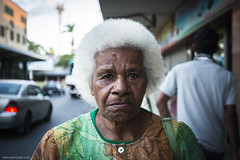Kini (jrockar) Tags: life old portrait people woman white 3 beautiful face fiji canon hair person idiot shot native mark character iii streetphotography streetportrait snap human age elder reality instant l 5d moment simple f4 1740 mk lay nadi condition kini oncearoundthesun faceoftheplanet janrockar jrockar