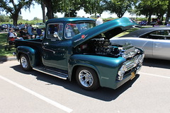 Ford F-100 Pick-up (eagle69er) Tags: show car grove micke 2016