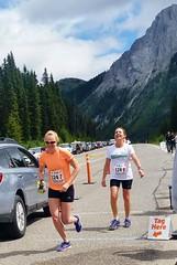 Leg 6 done Leg 7 begins (Downhillnut) Tags: mountains calgary race kananaskis longview relay nakiska 2016 crr k100 100miles relayteam 10runners calgaryroadrunners k1002016