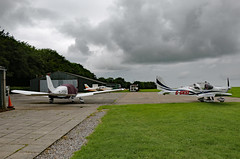 Compton Abbas Airfield, Compton Abbas, Dorset (Kev Slade Too) Tags: eurostar dorset piper goony pa28 comptonabbas ev97 egha cherokeewarrior aerotechnik gbsaw ggvsl comptonabbasairfieldltd