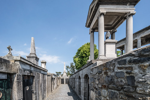 MOUNT JEROME CEMETERY AND CREMATORIUM IN HAROLD'S CROSS [SONY A7RM2 WITH VOIGTLANDER 15mm LENS]-117065