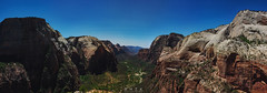 Angels Landing, Zion National Park (remizik) Tags: zion national park angels landing angelslanding panorama canyon nature landscape usa america sky