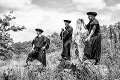 herdsmen (Laszlo Horvath 1M+ views tx :)) Tags: portrait bw grey nikon cattle herdsmen portr fesztivl szrkemarha vlgy bolyki