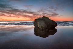 Rock Pool (JimScottAU) Tags: seascape rock clouds sunrise reflections au australia newsouthwales rockpool warriewood