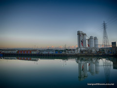Onehunga Wharf April 2016 (ianpattison) Tags: onehunga ports auckland holcim panuku manukau harbour