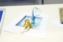 Mermaid illustration (Design Festa) Tags: art japan illustration japanese tokyo artwork mermaid japaneseart tokyobigsight artfestival japanartfestival japaneseartfestival