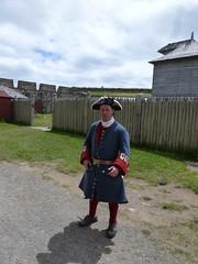 Fortress Louisbourg Nova Scotia artilleryman (MisterQque) Tags: novascotia fortresslouisbourg frenchcolony