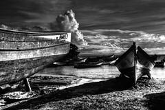 PAISAJE MARINO - SEASCAPE (alfonsomejiacampos. PLEASE READ MY PROFILE) Tags: barcas mar cielo paisaje valdez porlamar islademargarita venezuela