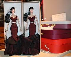 J'Adore La Fte Elyse Jolie  -- think everyone ordered 2 of these... (JennFL2) Tags: item 91387 jadore la fte elyse jolie dressed doll gift set the fashion royalty collection 2015 w club exclusive