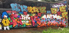 IZ THE WIZ R.I.P by CREPT & MR MET CBM - JUNE 2016 LONDON (EloquentNoiseUK) Tags: london art graffiti izthewiz mrmet cbm ukgraffiti