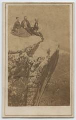 Gallery, 'Point Lookout.' Lookout Mountain, Tenn. (SMU Central University Libraries) Tags: men women rocks civilwar lookoutmountain rockformations appalachianmountains robertmlinn1872 jamesbirneylinn18441922