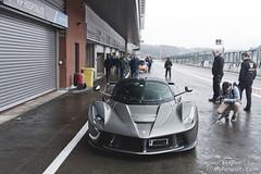 Ferrari LaFerrari (belgian.motorsport) Tags: race ferrari racing spa trackday curbstone francorchamps laferrari 20150425