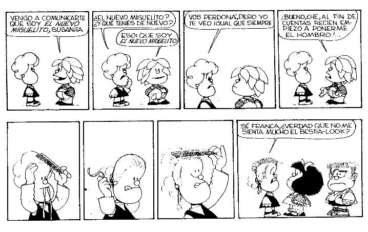 Historieta mafalda online dating