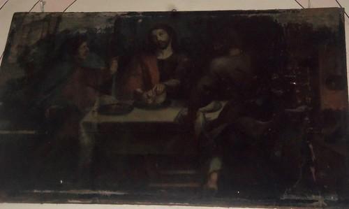 Los Discípulos de Emaús, Sotocoro del Templo del Santo Sepulcro, San Pedro Cholula, Pue.
