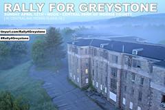 #Rally4Greystone (jgurbisz) Tags: abandoned rally demolition morristown asylum greystoneparkpsychiatrichospital vacantnewjerseycom jgurbisz rally4greystone