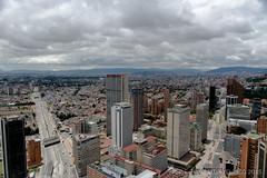 Calle 26 y Carrera 7. (Nestor Velasco) Tags: edificios nikon bogota bogot nubes build 7thavenue 26thstreet calle26 carrera7 d5300 nikond5300