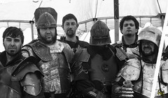 La Hermandad del Acero - Les justes del rei Jaume (rubenfcid) Tags: horses horse fire fight battle fair medieval tournament knights weapon sword axe knight fighting joust middleages jousting weapons middleage jousts