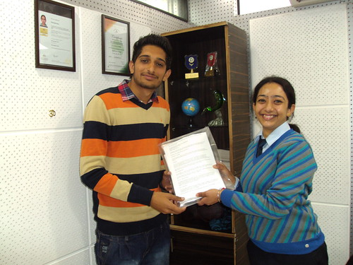 Ranjeet Singh Aulakh Receives Australia Study visa from Counselor