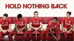 Liverpool dan New Balance luncurkan koleksi kostum anyar mereka