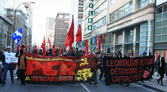 May-Day Anti-Capitalist March, Montral 2015 (Shane Murphy - Photojournalist) Tags: pepper riot intense downtown day mtl quebec action montreal smoke political politics protest may dramatic police du spray gas communist communism disperse weapon cs shield capitalism squad mayday sq cruiser ville manif manifestation spvm teargas anticapitalist surete manifencours