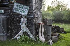 garden (donna leitch) Tags: abandoned canon garden junk raw neglected manikin hoarder 24105mm 5dmarkiii donnaleitch