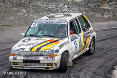 Renault 5 GT Turbo - Romain DEGIOVANNI / Guillaume ORVAL (nans_even) Tags: auto france cars mobile race alpes nice 5 rally racing renault turbo gt guillaume romain rallye maritimes voitures rallying r5 orval 2015 loda diac es5 luceram degiovanni es8 escarne asabtp