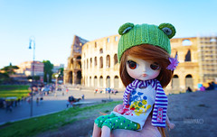 Only in Rome ADAW (15/53) :) (Untuvikko) Tags: rome doll dal colosseum gem dotori adaw2015